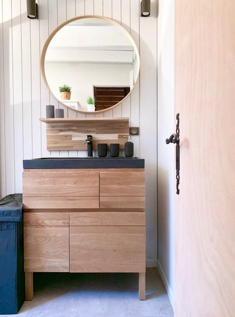 rénovation salle de bain du chalet - blog décoration intérieure - clem around the corner
