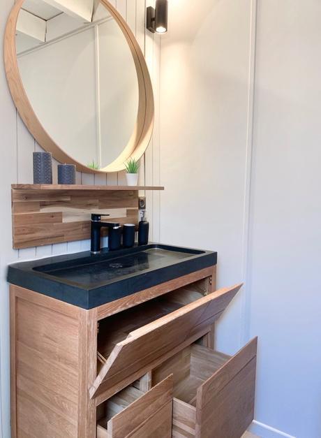 avis tikamoon meuble rénovation salle de bain du chalet easy bois massif
