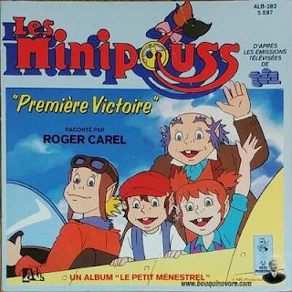 Livre-disque – Les Minipouss par Roger Carel