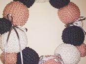 Tricoter couronne Noël
