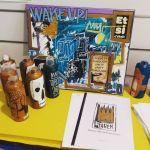 Peintures disponibles à La Recyclerie de Vichy