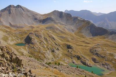 Le lac d'Allos par le Col de l'Encombrette