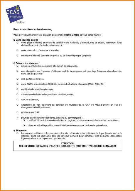 Déclaration Sur L Honneur Caf à Lire