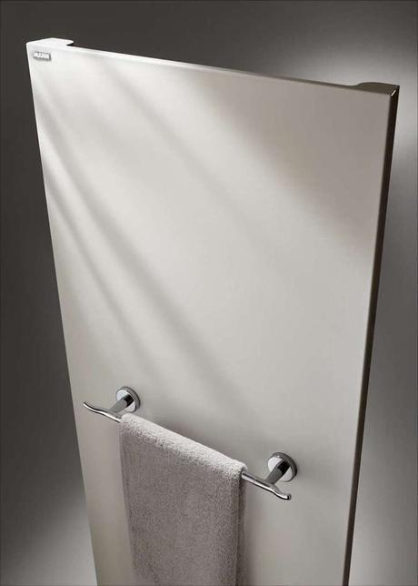 chauffage électrique salle de bain porte serviette design - blog déco - clemaroundthecorner
