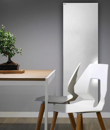 acova artemia radiateur design façade épurée lisse salle à manger design - clemaroundthecorner