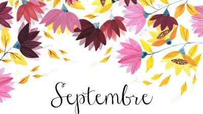 Mes lectures du mois de septembre
