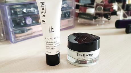 Routine hydratante à l'acide hyaluronique de Ella Baché