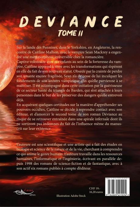 Déviance - tome 2 - de Christine BARSI