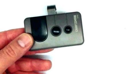 programmable garage door opener reset genie intellicode wireless pin remote programmable garage door opener
