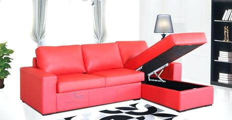 storage chaise sofa uptown storage chaise with sofa bed