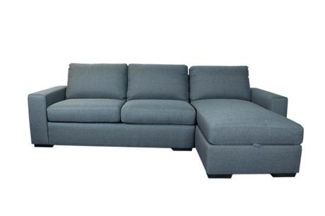 storage chaise sofa fabric storage chaise sofa