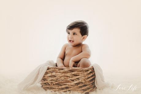 Séance photo bébé 1 an en studio Rueil Malmaison