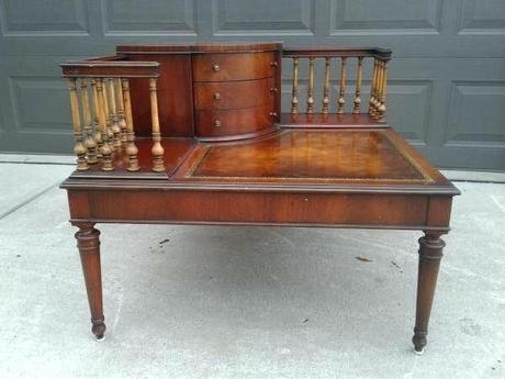 mahogany coffee table antique rare antique heirloom mahogany coffee table or desk