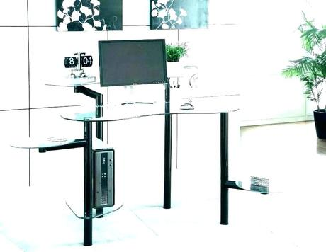 modern glass desk modern glass desk table