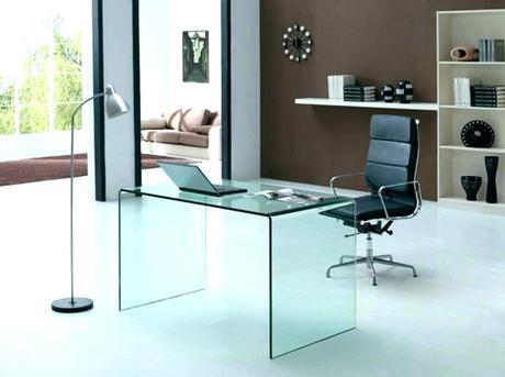 modern glass desk small modern glass desk