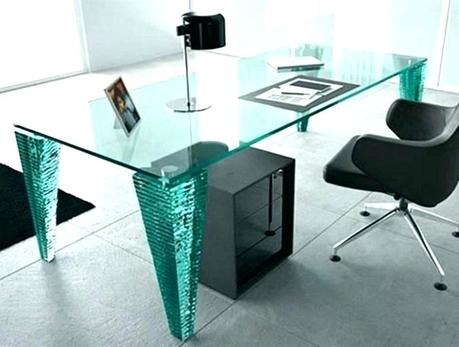 modern glass desk modern glass writing desk