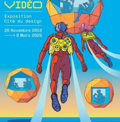 #Culture #Gaming - Exposition : Design-moi un jeu vidéo a la Cité du design de Saint-Etienne !