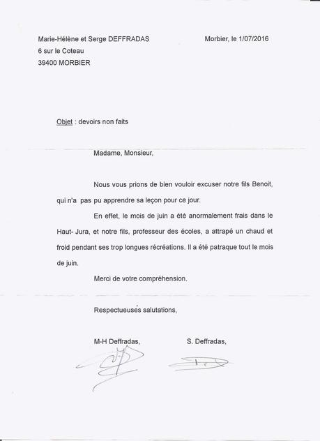 Lettre D Excuse Pour Radiation Pole Emploi Paperblog