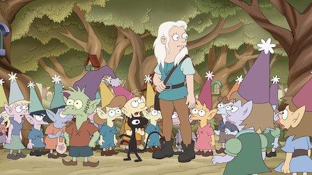[FUCKING SERIES] : Désenchantée saison 2 : Une princesse, un elfe et un démon retournent dans un bar...
