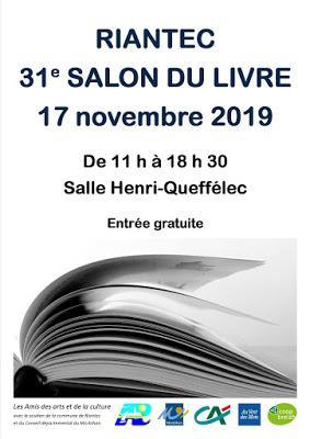 Salons du livre à venir – Mois de novembre