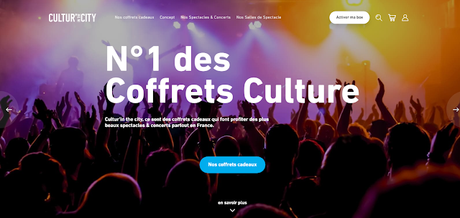 Cultur'in the City, le coffret culture à offrir ou à s'offrir !