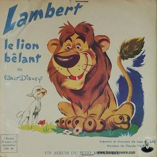 Livre-disque – Lambert le lion bêlant raconté par Caroline Cler et Olivier Jeanès