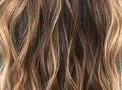 Balayage cheveux châtain