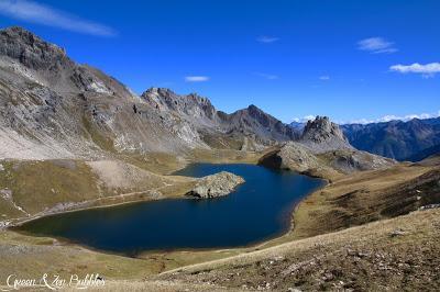 Le lac de l'Oronaye et le lac du Roburent