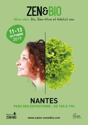Le salon Zen et Bio 2019 ouvre ses portes à Nantes du 11 au 13 octobre