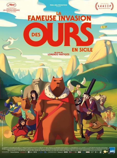 Film : La Fameuse Invasion Des Ours en Sicile