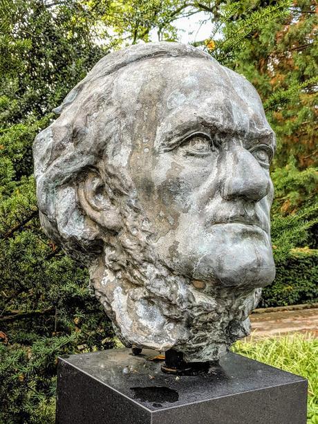 Le buste de Richard Wagner par Thomas Hunziker à Tribschen