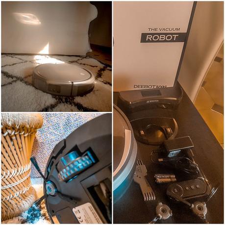 Test de l'aspirateur robot deebot 502 + jeu concours