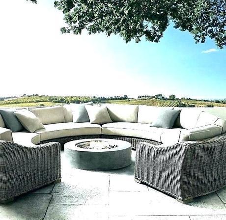 outdoor coffee table cover circular