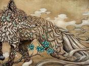 fabuleuses illustrations stylo bille Manabu Endo