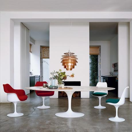 icône design mobilier tendance chaise tulipe table tulipe décoration - blog déco - clemaroundthecorner