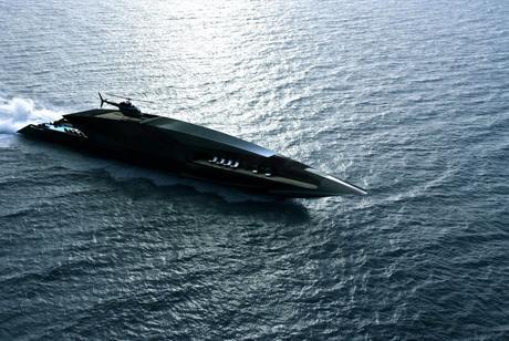 Black Swan : le superyacht dont rêvent les milliardaires