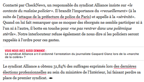 #Acab (surtout Alliance Police) #violencespolicieres