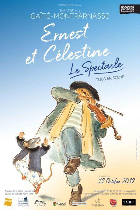 {Idée Sortie à Paris} Ernest et Célestine, le spectacle musical et familial