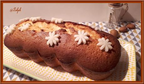 Cake à la pâte d'amande et à la fleur d'oranger