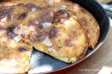 Cecina toscana (ou galette de pois chiche)