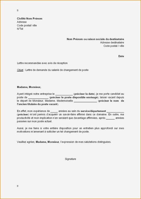 Les Meilleur Exemple De Lettre De Demande De Duplicata ...