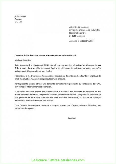 Pratique Lettre De Demande De Duplicata Modele Lettre ...