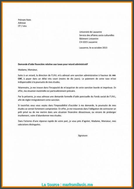 De Base Lettre De Demande De Duplicata Lettre De Demande De ...
