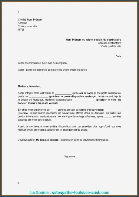 Excellent Demande De Duplicata Lettre 44 44 Modele De Lettre ...