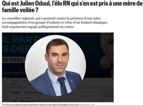 Grâce @JulienOdoul,   l'ordure raciste à un nom, et un visage.