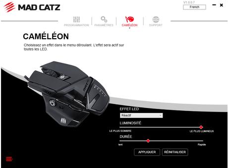 Présentation de la souris gaming R.A.T 4+ de Madcatz