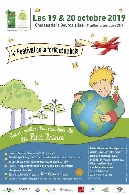 4e Festival de la Forêt et du Bois au château de la Bourdaisière samedi 19 et dimanche 20 octobre 2019