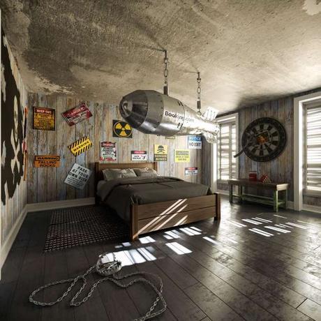 Vous pouvez maintenant dormir dans une réplique du manoir de la Famille Addams