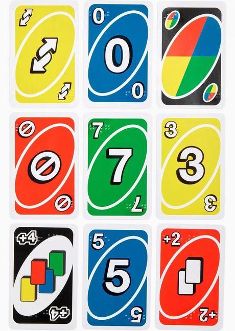 Le jeu UNO arrive dans une version braille