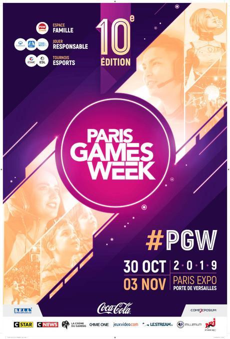 #PGW - 10ème édition de la Paris Games Week : Jouer, découvrir, célébrer et partager